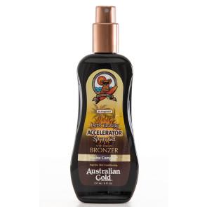Australian Gold Dark Tanning Accelerator Instant Bronzer - Spray Bronzeador 237ml