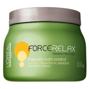 L'Oréal Force Relax Nutri-Control Máscara 500g