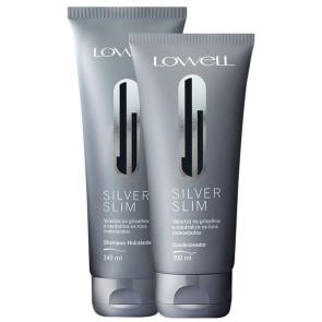 Lowell Silver Slim - Kit 2 Produtos
