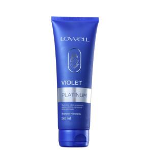 Lowell Violet Platinum Shampoo 240ml