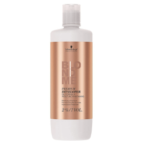 Schwarzkopf Blond Me Premium Care lift 9+ 2% 7 Vol. Loção Oxidante 1.000ml