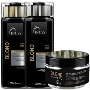Truss Specific Blond Hair Intensive - Kit 3 Produtos (Sh.+Cond.+Masc.)