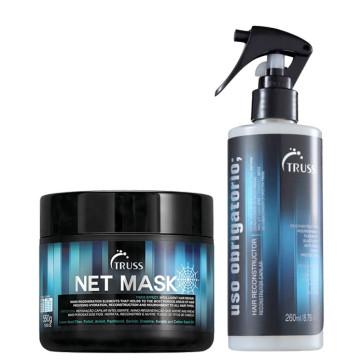 Truss Combo Net Mask + Uso Obrigatório