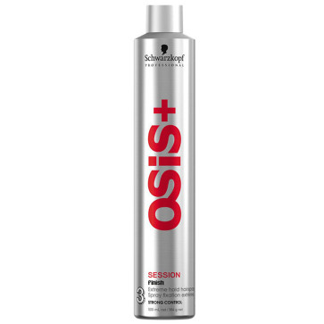 Schwarzkopf Osis+ Session Finish Hair Spray Fixador Forte 500ml