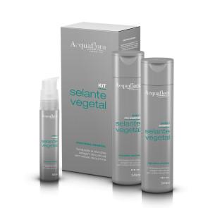 Acquaflora Selante Vegetal - Kit 3 Produtos