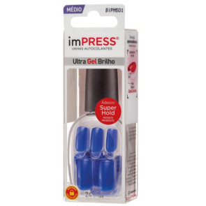 Kiss New York ImPress Unhas Autocolantes - Model