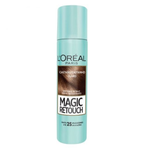L'Oréal Magic Retouch Corretivo de Raiz - Castanho Claro 75ml