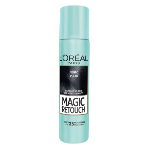 L'Oréal Magic Retouch Corretivo de Raiz - Preto 75ml