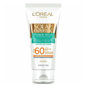 L'Oréal Solar Expertise Toque Seco FPS 60 - Protetor Solar Facial 50g